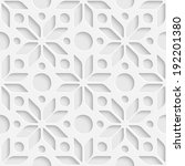 seamless stars pattern | Shutterstock .eps vector #192201380
