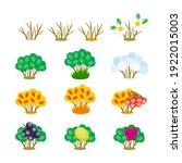 set of vector cartoon cliparts...   Shutterstock .eps vector #1922015003