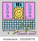 happy face vector art... | Shutterstock .eps vector #1922028770