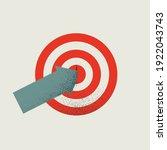 business target  goal ... | Shutterstock .eps vector #1922043743