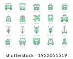 transport front view simple... | Shutterstock .eps vector #1922051519
