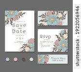 flower designs border   floral... | Shutterstock .eps vector #1922056946