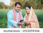 Happy Indian Rural Farmer...