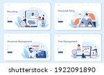 personnel management web banner ...   Shutterstock .eps vector #1922091890
