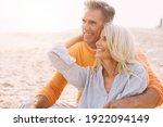 Happy Senior Couple Spending...