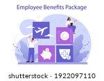 employee benefits package... | Shutterstock .eps vector #1922097110