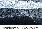 A Scene Of Foam Sea Waves...