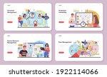 personnel management web banner ...   Shutterstock .eps vector #1922114066