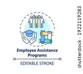 employee assistance programs... | Shutterstock .eps vector #1922119283