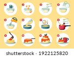 step by step preparation... | Shutterstock .eps vector #1922125820