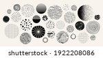 set of hand drawn doodle...   Shutterstock .eps vector #1922208086