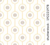 seamless geometric pattern | Shutterstock .eps vector #192221978