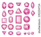 brilliant,circle,collection,crystal,cut,diamond,emerald,facet,fashion,gem,gemstone,heart,hexagon,illustration,isolated