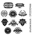 banners and badges set for... | Shutterstock . vector #192232466