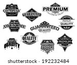 retro labels and banners set... | Shutterstock . vector #192232484