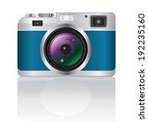 retro camera | Shutterstock .eps vector #192235160