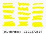 marker lines. vector...   Shutterstock .eps vector #1922372519