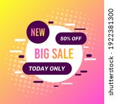 promotional sale banner... | Shutterstock .eps vector #1922381300