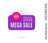 promotional sale banner...   Shutterstock .eps vector #1922381336