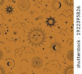 vector seamless pattern with...   Shutterstock .eps vector #1922395826