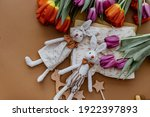 Easter Festive Background With...