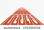 starting running track at... | Shutterstock .eps vector #1922404526