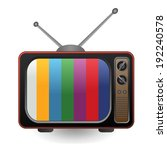 retro tv | Shutterstock .eps vector #192240578