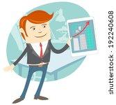 vector illustration of  vector... | Shutterstock .eps vector #192240608