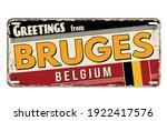 Greetings From Bruges Vintage...