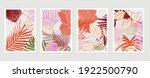 summer tropical wall arts... | Shutterstock .eps vector #1922500790