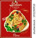 Italian Pasta. Spaghetti With...