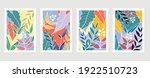 summer tropical wall arts... | Shutterstock .eps vector #1922510723
