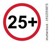 25  restriction flat sign...