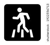 no walk icon access for... | Shutterstock .eps vector #1922556713