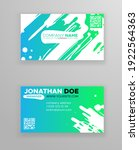 creative color business card... | Shutterstock .eps vector #1922564363
