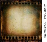 vintage film background. grunge ... | Shutterstock . vector #192258629