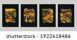 gold forest  wall art... | Shutterstock .eps vector #1922618486
