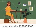 animation character portrait...   Shutterstock .eps vector #1922635640