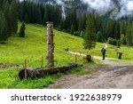 Vilsalpsee  Tyrol  Austria ...