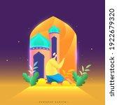 ramadan kareem celebration... | Shutterstock .eps vector #1922679320