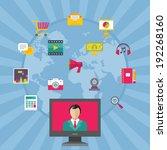 creative business concept  ... | Shutterstock .eps vector #192268160