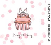 Greeting Card Concept. Cute...