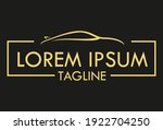 black and yellow luxury color... | Shutterstock .eps vector #1922704250