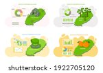 welcome to jeju island in south ... | Shutterstock .eps vector #1922705120