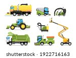 city cleaning machine technical ...   Shutterstock .eps vector #1922716163