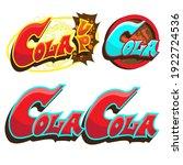 cola up  cola typography vector ...   Shutterstock .eps vector #1922724536