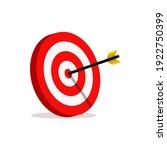 abstract target vector... | Shutterstock .eps vector #1922750399