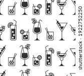 Cocktail Vector Seamless...