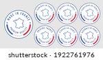set badge logotype of made in...   Shutterstock .eps vector #1922761976