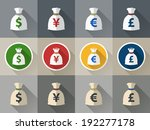background,bag,bank,banking,business,cash,concept,currency,design,dollar,earning,element,euro,finance,flat